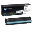 Kартридж Hewlett-Packard HP CF402X 201X Yellow Original LaserJet Toner Cartridge (CF402X) увеличеной емкости